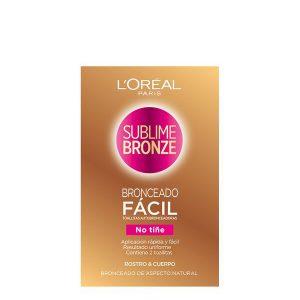 kuva Self-bronzing towelettes Sublime Bronze L'Oreal Make Up (2 uds)